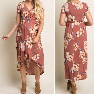 Pinkblush•Floral Maternity Dress•Size L